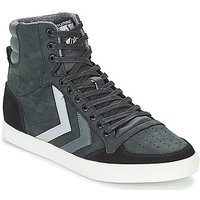 Hummel  SLIMMER STADIL DUO OILED HIGH  men's Shoes (High-top Trainers) in Black