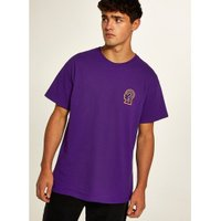Mens Purple 'On Your Mind' T-Shirt, Purple