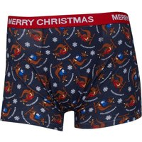 Kangaroo Poo Mens Novelty Trunks Navy Multi