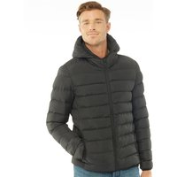 French Connection Mens Row 2 Hooded Jacket Black
