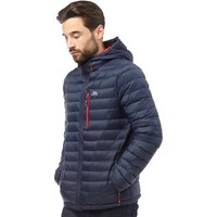 Trespass Mens Digby Down Fill Padded Hooded Jacket Navy