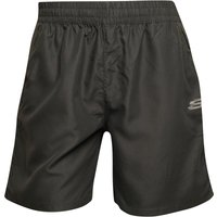 SKECHERS Mens Kurt Poly Training Shorts Charcoal