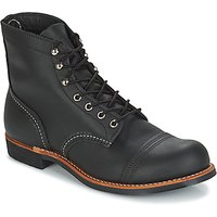 Red Wing  IRON RANGER  men's Mid Boots in Black