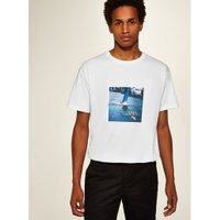Mens White Skater T-Shirt, White