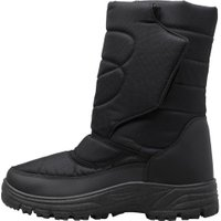 Max Wax Mens Snow Boots Black