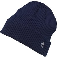 Original Penguin Mens Rib Beanie Navy