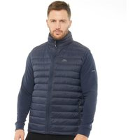 Trespass Mens Mullins Down Fill Padded Gilet Navy