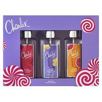 Charlie Body Mists Trio 100ml Christmas Gift Set for Her