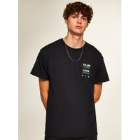 Mens Black 'Trinity' T-Shirt, Black