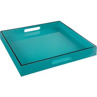 John Lewis & Partners Painted Lacquer Square Tray