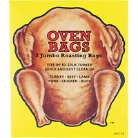 Eddingtons Turkey Roasting Bags, Pack of 2