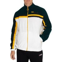 Fila  Men's Ethan Terry Towelling Track Jacket, White  men's Tracksuit jacket in White
