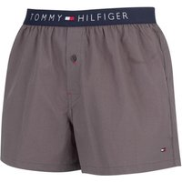 Tommy Hilfiger  Men's Icon Woven Trunks, Grey  men's Shorts in Grey