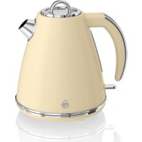SWAN Retro SK19020CN Jug Kettle - Cream, Cream