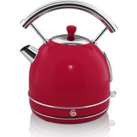 SWAN Retro SK34021RN Traditional Kettle - Red, Red