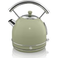 SWAN Retro SK34021GN Traditional Kettle - Green, Green