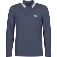 BOSS Athleisure  PLISY  men's Polo shirt in Blue