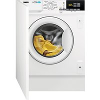 Zanussi Z716WT83BI Integrated Washer Dryer, 7kg Wash/4kg Dry Load, A Energy Rating, 1600rpm Spin, Wh