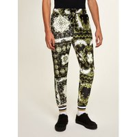 Mens Multi Jaded Scarf Print Joggers*, Multi