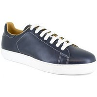 Peter Blade  Sneaker  Navy Blue Leather LE TOUQUET  men's Shoes (Trainers) in multicolour