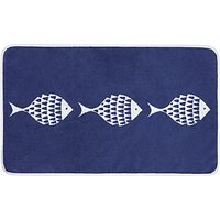 John Lewis & Partners Shoal of Fish Bath Mat