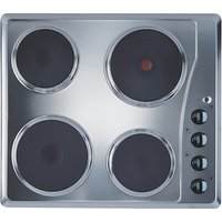 Indesit TI 60 X Electric Hob, Stainless Steel