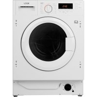 LOGIK LI8W6D17 Integrated 8 kg Washer Dryer