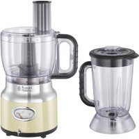 RUSSELL HOBBS Retro 25182 Food Processor - Cream, Cream