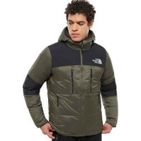 The North Face  Himalayan Light Down Hooded Jacket  men's Jacket in Green