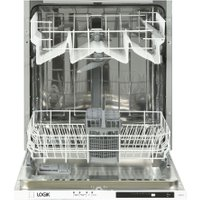 LOGIK LID60W18 Full-size Fully Integrated Dishwasher