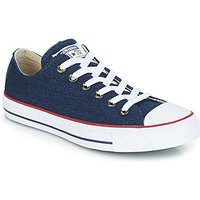 Converse  ALL STAR DENIM OX  men's Shoes (Trainers) in multicolour