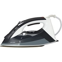 John Lewis & Partners Speed Steam Iron, Black
