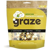 Graze Mexican Style Smoked Cheese share bag 94g