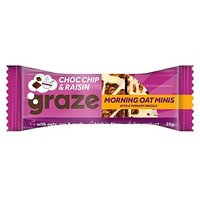 Graze Morning Oat Mini Choc Chip & Raisin 30g