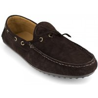 J.bradford  Loafer  Brown Leather JB-BELMAR  men's Loafers / Casual Shoes in multicolour