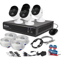 SWDVK-844804V 8-Channel Full HD 1080p Smart Security System - 1 TB, 4 Cameras