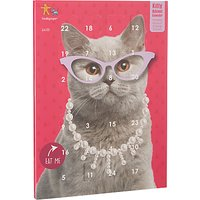 Fred & Ginger Cat Advent Calendar, Pink