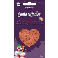 Rosewood Cupid & Comet Luxury Turkey Hearts for Cats, 50g