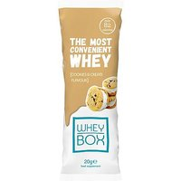 Whey Box The Most Convenient Whey Cookies & Cream Flavour Protein 20g Sachet