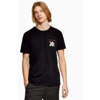 Mens Black 'Vince Staples' T-Shirt, Black