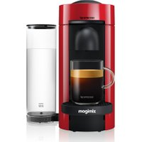 NESPRESSO by Magimix VertuoPlus M600 Coffee Machine - Piano Red, Red