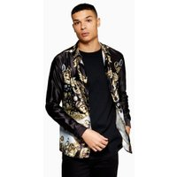 Mens Multi JADED Jewel Baroque Long Sleeve Shirt*, Multi