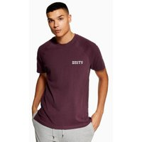 Mens Purple 'Unity' T-Shirt, Purple