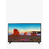 LG 60UK6200PLA LED HDR 4K Ultra HD Smart TV, 60 with Freeview Play/Freesat HD, Ultra HD Certified, B