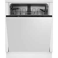 Beko DIN15310 Integrated Dishwasher, 59.8cm Wide, A+ Energy Rating, White