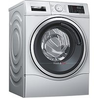 Bosch WDU28568GB Freestanding Washer Dryer, 10kg Wash/6kg Dry Load, A Energy Rating, 1400rpm Spin, S