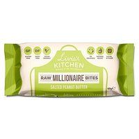 Livia's Kitchen Raw Millionaire Squares - Salted Peanut Butter 60g