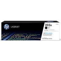 HP 203A Black Toner Cartridge, Black