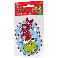 Dr. Seuss The Grinch Tags x6