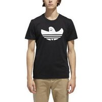 adidas  Solid Shmoo T  men's T shirt in Black